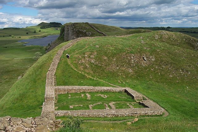 Mauer Milecastle 39 on Hadrian Wall