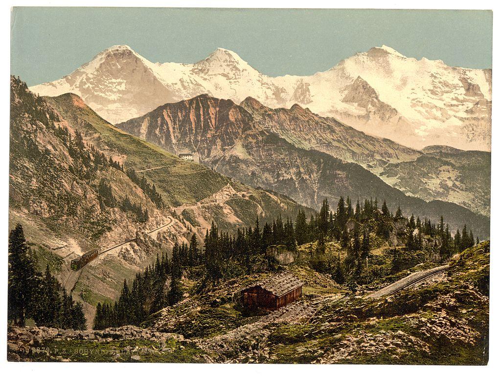 Schynige_Platte_Eiger_Monch_and_Jungfrau_Bernese_Oberland_Switzerland-LCCN2001701246.jpg